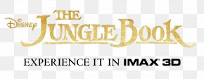 The Jungle Book Transparent Image - 3D Film IMAX Cartoon PNG