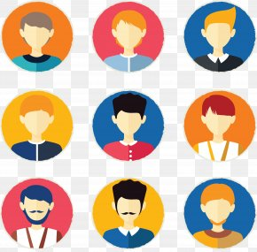 Personalized People Tab Fig. - Avatar Euclidean Vector Icon PNG