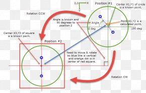 Line Angle Point - Angle Of Rotation Point Circle PNG