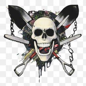 Pirates Of The Skull Material Free To Pull - Skull Calavera U9ab7u9ac5 PNG
