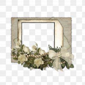 Elegant Flower Frame - Flower Download PNG