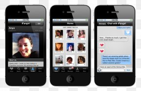 iPhone dating service