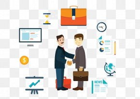 Vector Business People - Dongtai Business Handshake PNG