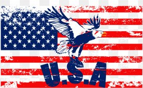 American Flag - Flag Of The United States Flags Of North America Wallpaper PNG