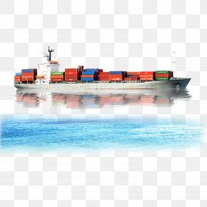 Cargo Ship On The Sea - Cargo Freight Transport Freight Forwarding Agency Logistics PNG