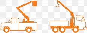 Bucket Truck Cliparts - Truck Crane Bucket Clip Art PNG