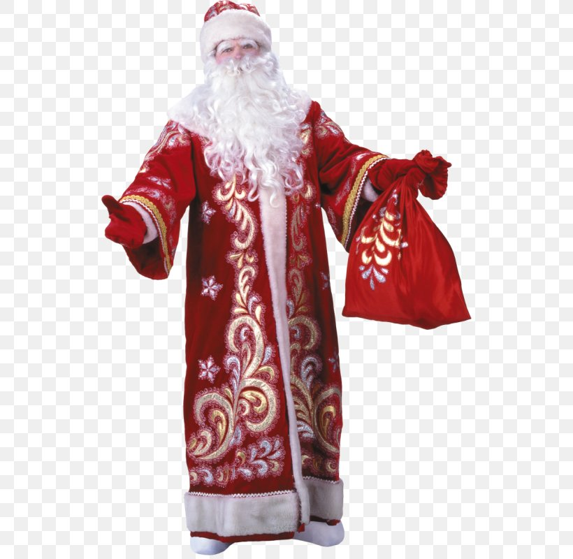 Ded Moroz Snegurochka New Year Tree Grandfather, PNG, 530x800px, Ded Moroz, Animation, Child, Christmas Ornament, Costume Download Free