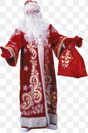 Santa Claus - Ded Moroz Snegurochka New Year Tree Grandfather PNG