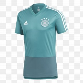 T-shirt - Germany National Football Team T-shirt 2018 FIFA World Cup Adidas Jersey PNG