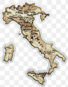 ITALY Map - Italy Map Icon PNG