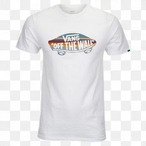 T-shirt - Vans OTW Logo Fill T-Shirt (Colour: White/Death Bloom / Size: L) Sleeve PNG