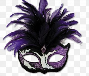 Mask - Joker Mask Purple PNG