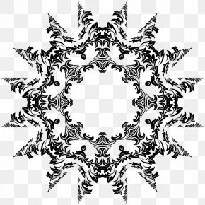 Ornamental - Black And White Visual Arts Monochrome Photography PNG