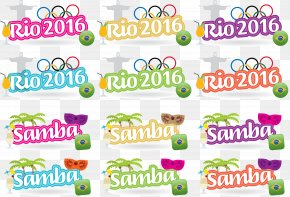 Cartoon Olympic Rings - 2016 Summer Olympics Rio De Janeiro Olympic Symbols Multi-sport Event PNG
