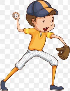 Baseball Game - Ball Cartoon Illustration PNG