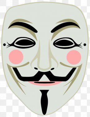 Rogue Mask Cliparts - Guy Fawkes Mask Gunpowder Plot Anonymous Guy Fawkes Night PNG