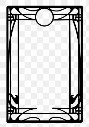 Design - Borders And Frames Art Nouveau Frames And Borders Art Deco Clip Art PNG