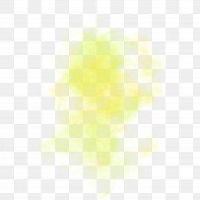 Yellow Light Fog - Light Yellow Euclidean Vector PNG