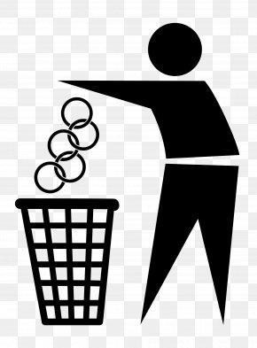 Trash Can - Rubbish Bins & Waste Paper Baskets Bin Bag Clip Art PNG