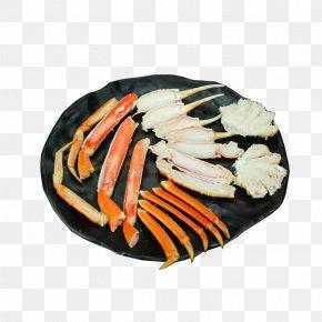 Snow Crab Platter - Alaska Seafood Snow Crab Red King Crab PNG