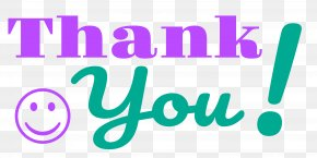 Thank You - Typeface Smiley Plain Text Italic Type Font PNG
