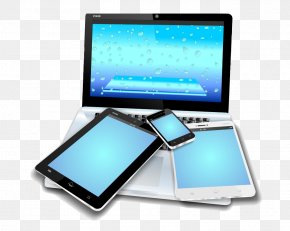 Laptop Computer And Cell Phone Tablet - Laptop Mobile Device Tablet Computer Smartphone Mobile App PNG