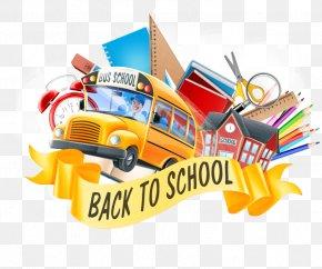 School Bus - School PNG