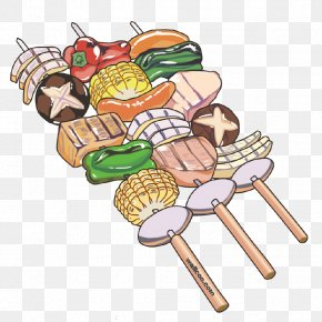 Barbecue - Barbecue Grill Rotisserie Cartoon PNG
