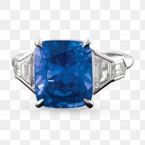 Sapphire - Sapphire Ring Jewellery Diamond Carat PNG