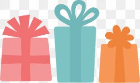 Birthday Presents - Christmas Gift Birthday Clip Art PNG