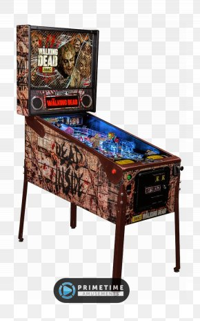 Pinball - Pinball The Walking Dead Arcade Game Stern Electronics, Inc. PNG