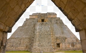 Ancient Mayan Civilization Construction - Pyramid Of The Magician Temple Of The Warriors Chichen Itza Playa Del Carmen Tulum PNG