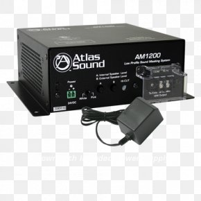 Sound System - Atlas Sound Am1200 Low Profile Sound Masking System Background Noise Machines Auditory Masking PNG