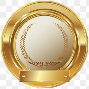Gold Seal Clip Art Image - Seal Clip Art PNG