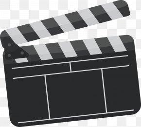 Vector Film Slate Cards - Clapperboard Film Cinematography PNG