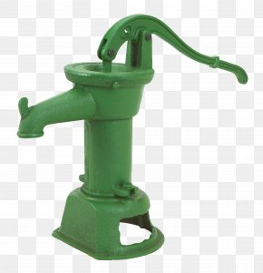 Hand Water Pump - Hand Pump Water Well Cast Iron PNG