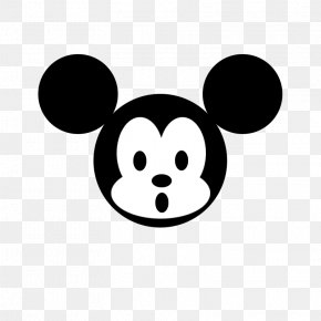 Black And White Mickey Mouse - Mickey Mouse Minnie Mouse Black And White Computer Mouse PNG