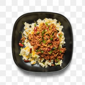 Scrambled Eggs - Chili Con Carne Vegetarian Cuisine Fried Rice Food Dish PNG