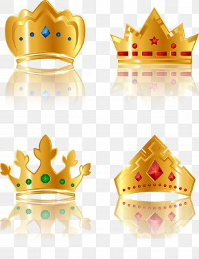 Imperial Crown - Crown Gold Icon PNG