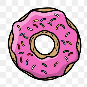 Unicorn Donut - Donuts Homer Simpson Frosting & Icing Coffee And Doughnuts Cartoon PNG