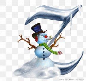 Snowman - Snowman Letter Alphabet Christmas PNG