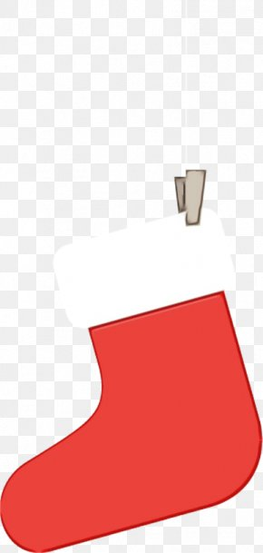 Christmas Stocking Footwear - Christmas Stocking PNG