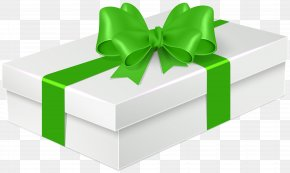 Gift With Green Bow Clip Art - Gift Balloon Clip Art PNG