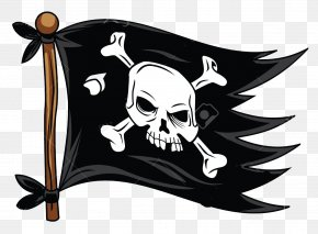 Flag - Jolly Roger Piracy Royalty-free Flag PNG