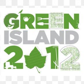 Green Island - Graphic Design Brand Identity Logo PNG
