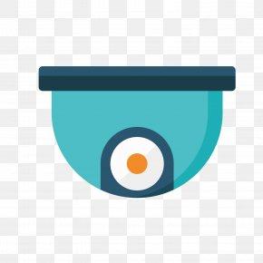 Blue Monitor - Lens Euclidean Vector PNG