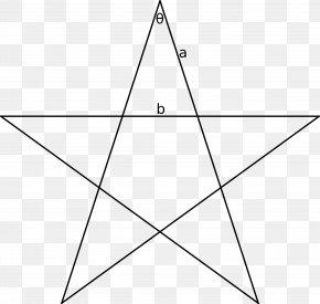 Classic Golden Triangle Tour - Pentagram Golden Triangle Shape Clip Art PNG