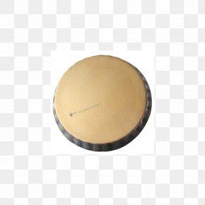 Drumhead Material Beige PNG