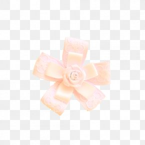 Pink Bowknot - Pink Shoelace Knot PNG