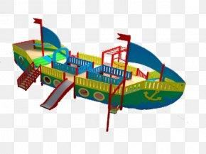Ship - Playground Ship Piracy Swing Child PNG
